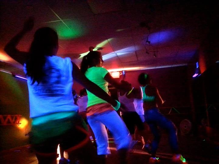 Cosmic Fitness Glow Party!!